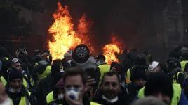 Gilet gialli: scontri a Marsiglia