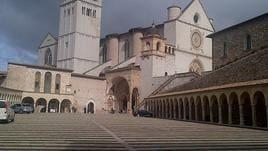 Messaggio pace MO da presepe Assisi