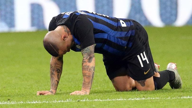 Serie A Inter, i convocati per la Juventus: assente Nainggolan
