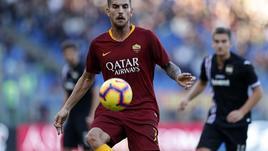 Pellegrini ko,a rischio per sfida a Juve