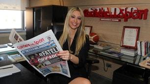 Martina Stella al Corriere dello Sport, le foto