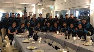 Lazio, strappo al ritiro: tutti insieme a cena