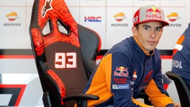 MotoGp Honda, Marquez: primi esercizi con la spalla sinistra