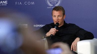 F1, show di Raikkonen al galà FIA