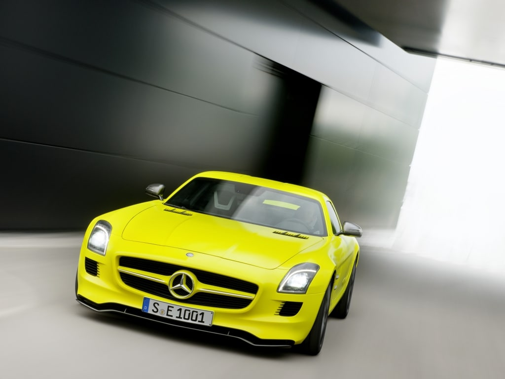 Mercedes SLS AMG Electric Drive, Affalterbach prepara l'erede