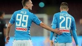Serie A, Napoli a quota goleada con il Frosinone