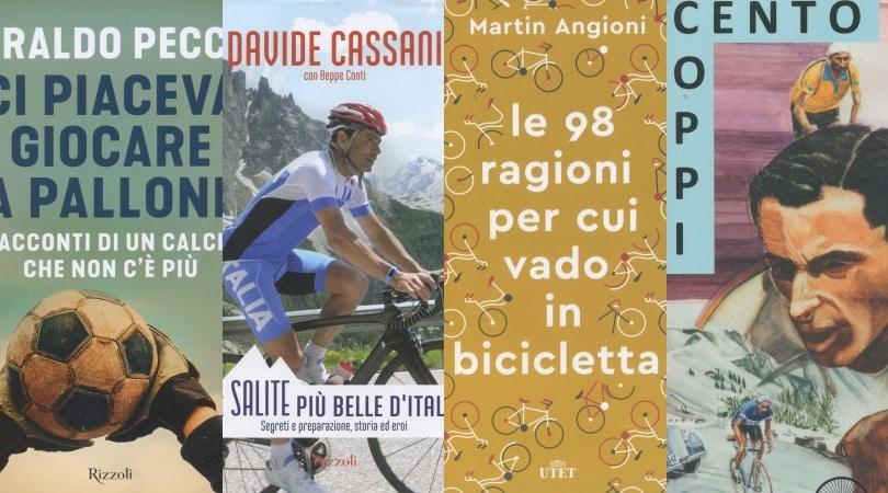 Il calcio di una volta di Eraldo Pecci e tre libri sul ciclismo