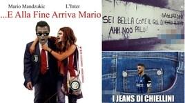 Mandzukic decide il derby d'Italia: Juventus-Inter vista dai social