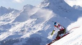 Sci: trionfo della Shiffrin nel superG di St. Moritz, cade la Brignone