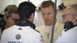F1 Alfa Romeo Sauber, Raikkonen: «Non c'è grande differenza con la Ferrari»