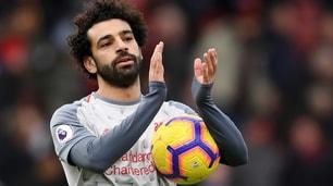 Liverpool, Salah porta il pallone a casa