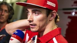 F1 Ferrari: prova sedile per Charles Leclerc