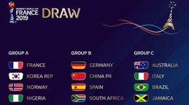 Mondiali donne 2019: Australia, Brasile e Giamaica nel girone dell'Italia