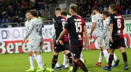 Cagliari-Roma 2-2: Sau pareggia al 95'