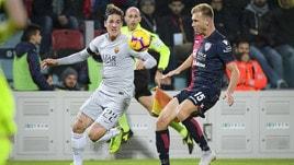 Serie A Cagliari-Roma 2-2, il tabellino