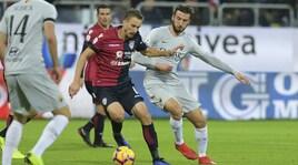 Serie A, Cagliari-Roma 2-2: i giallorossi buttano altri due punti