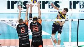 Volley: Superlega, Siena sfiora l'impresa al Pala Panini