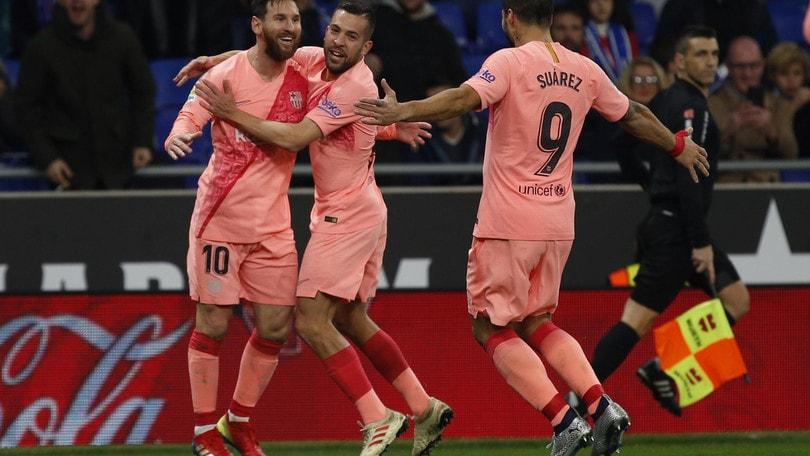 Barcellona stellare. L'Inter può sperare