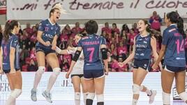 Volley: A1 Femminile,prima vittoria casalinga per Filottrano