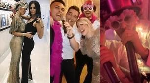 Wanda Nara, party esagerato: Icardi-Lautaro show