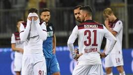 Bologna ancora ko: l'Empoli vince al Castellani