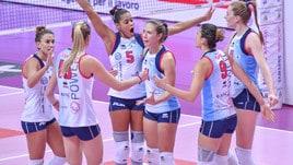 Volley: A1 Femminile, Scandicci sgambetta Conegliano