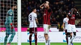 Milan-Torino 0-0: Donnarumma salva, Cutrone spreca