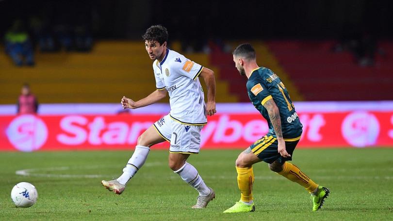 Serie B, Benevento-Verona 0-1: Matos rilancia Grosso