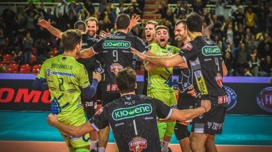 Volley: Superlega, Padova e Milano fermano Perugia e Civitanova