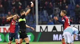 Moviola Serie A: Criscito, rosso da regolamento