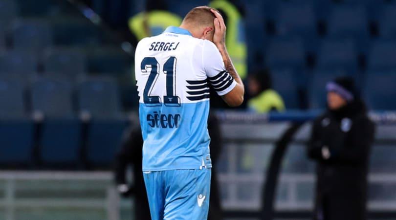 Lazio, ora Milinkovic è sotto tiro
