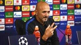 Spalletti: «Inter, Vecino out, ma ho fiducia»