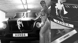Icardi regala a Wanda Nara una Bentley