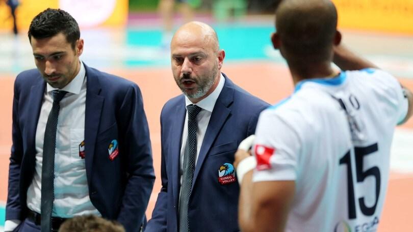 Volley: A2 Maschile, Cuneo ha esonerato Mauro Barisciani