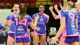 Volley: A1 Femminile, nel posticipo della 9a giornata Monza travolge Casalmaggiore