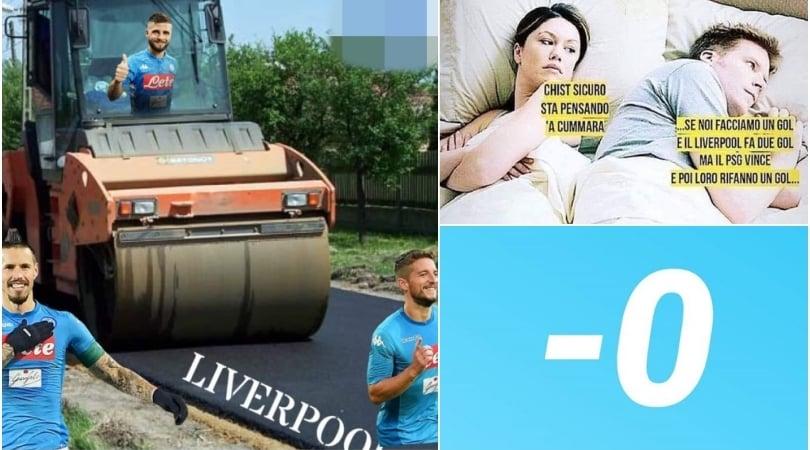 Liverpool-Napoli, l'attesa social dei tifosi azzurri divisi tra ansia e scaramanzia