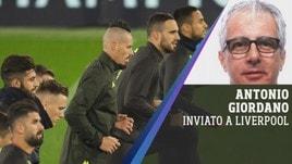 Liverpool-Napoli, le ultime dal nostro inviato