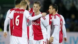 Champions: Ajax-Bayern, il sorpasso biancorosso vale 3,70