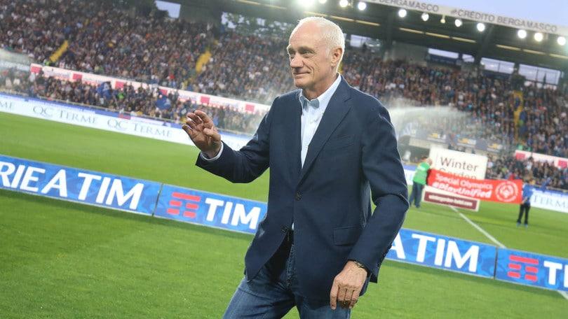 Serie A Atalanta, Percassi: «Primo obiettivo la salvezza»