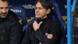 Serie A Bologna, Inzaghi: «Mi sono rotto, basta negatività»