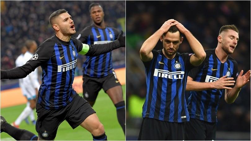 Icardi illude San Siro, poi il risveglio: l'Inter saluta la Champions