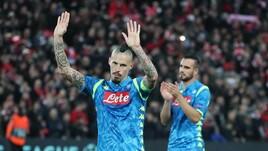 Napoli in Europa League, parte la sfida al Chelsea di Sarri