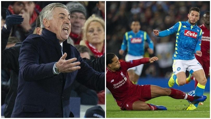 Champions League, Ancelotti: le sue parole dopo il match con il Liverpool