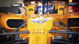 F1, la McLaren scende in pista nel ciclismo