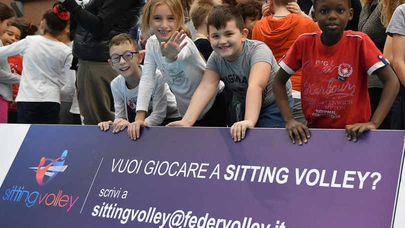 Sitting Volley: nasce Sit2play, il progetto europeo che porta il sitting nelle scuole