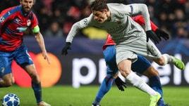 Champions League Viktoria Plzen-Roma 2-1, il tabellino