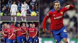 Champions League, Cska miracoloso al Bernabeu: il Realaffonda