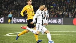 Champions League Young Boys-Juventus 2-1, il tabellino