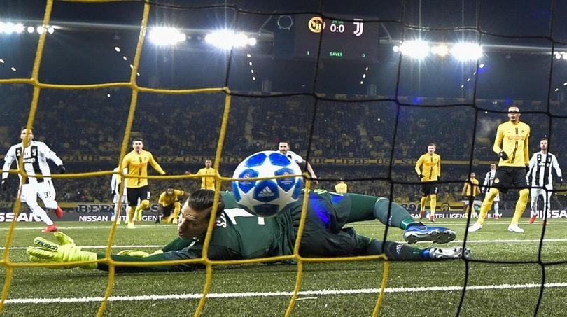 Young Boys-Juventus 2-1: Dybala non basta ma Allegri è primo