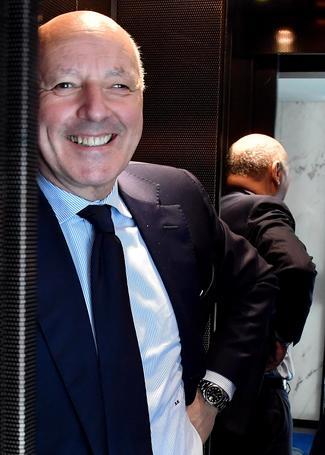 Inter:Marotta in sede,attesa ufficialità